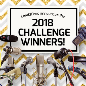 See the Lead2Feed Challenge winners here