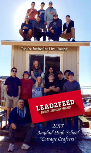 Lead2Feed students help the homeless