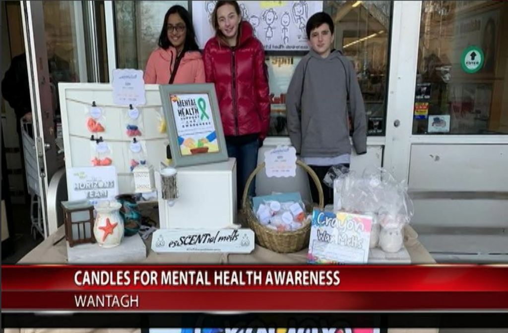 Wantagh Middle School students win 'The Lead2Feed Challenge' by shining a light on mental health