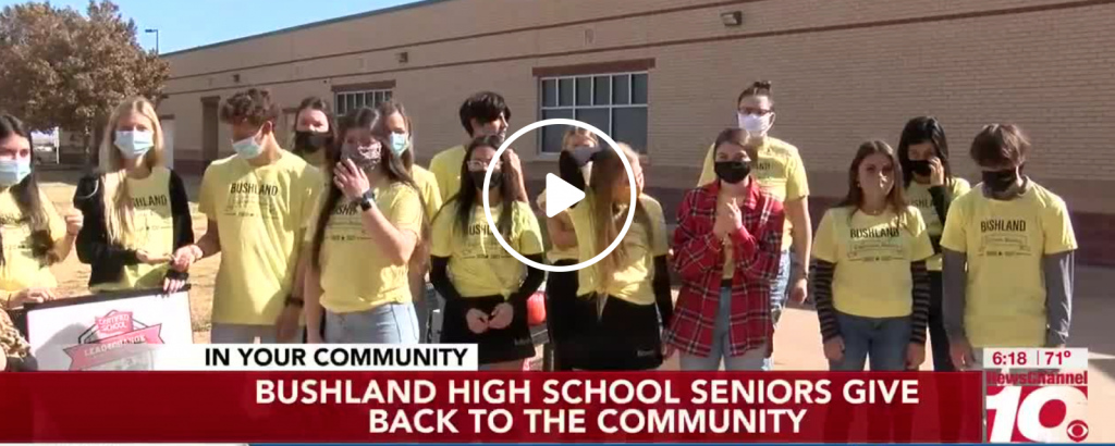Bushland High School seniors give back during the pandemic